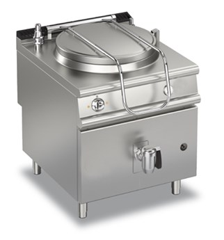ELECTRIC BOILING PAN - DIRECT HEATING 150 LT   90PF/ED150